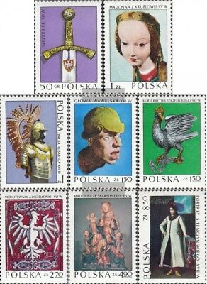 Poland 2237-2244 (complete issue) unmounted mint / never hinged 1973 Polish Art