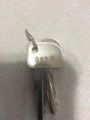 Ibm Cash Drawer Key's #9952 Set Of 2 Keys. Aftermarket Key's Same As Oem 33G3352