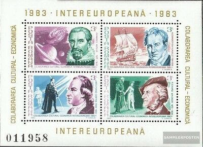 Romania block193 (complete issue) unmounted mint / never hinged 1983 INTEREUROPA