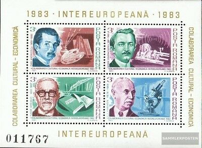 Romania Block194 (complete issue) unmounted mint / never hinged 1983 INTEREUROPA