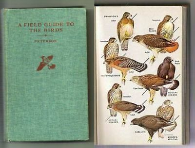 1947 Field Guide to the Birds East of Rockies MANY! Nice Color Plates Jackson NH