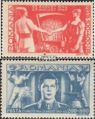Romania 898-899 mint never hinged mnh 1945 Bauernfront