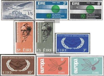 Ireland 169-177 mint never hinged mnh 1965 Complete Volume