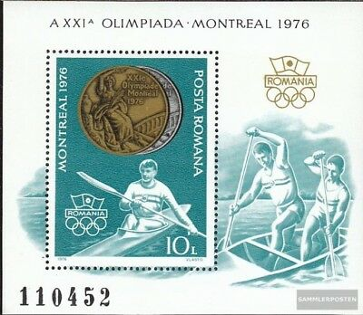 Romania block137 (complete issue) unmounted mint / never hinged 1976 Medalists