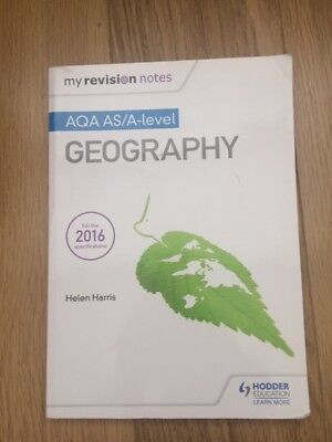 AS-LEVEL GEOGRAPHY AQA Revision Guide-CGP Books - £4 00 | PicClick UK