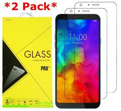 2-Pack Tempered Glass Screen Protector for For LG Q7 / Q7+ Plus