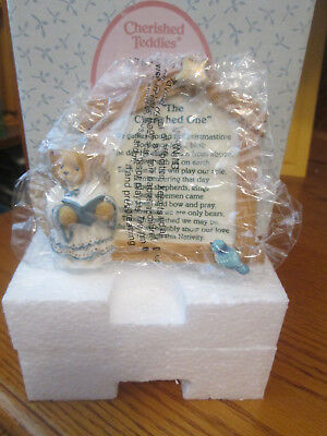 "Cherished Teddies  ""Nativity Prayer Plaque"" 176362S NIB"