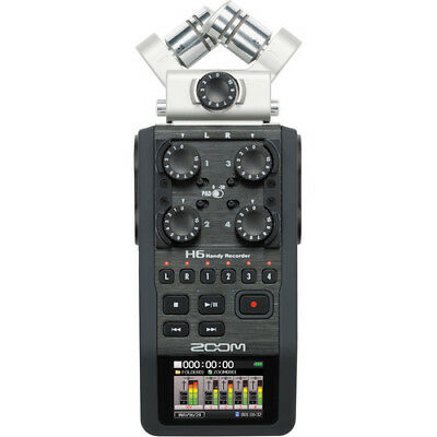BRAND NEW Zoom H6 Handy Recorder with Interchangeable Microphone System
