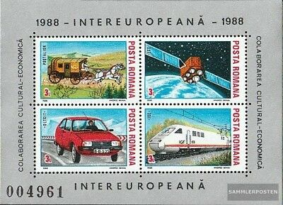 Romania block239 (complete issue) unmounted mint / never hinged 1988 INTEREUROPA