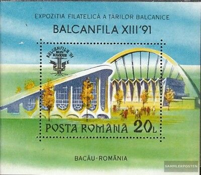 Romania block264 mint never hinged mnh 1991 Stamp Exhibition