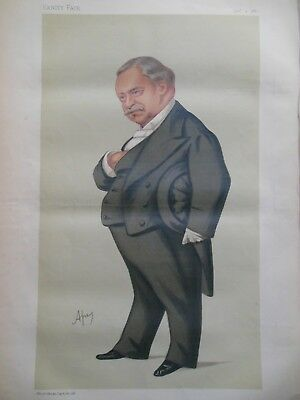 Original Vanity Fair Print; Jean Baptiste Leon Say - 4th December 1880 (French)