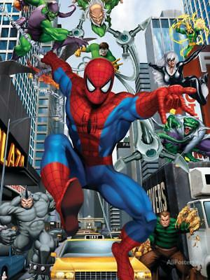 Spider-Man, Doctor Octopus, Green Goblin, Vulture, Black Cat, Electro,... Poster