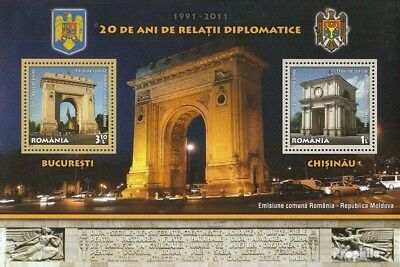 Romania Block516 (complete.issue.) unmounted mint / never hinged 2011 Relationsh
