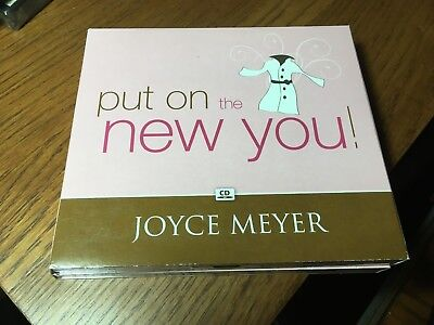 LIKE NEW: Put on the new you! 4 cd's by Joyce Meyer