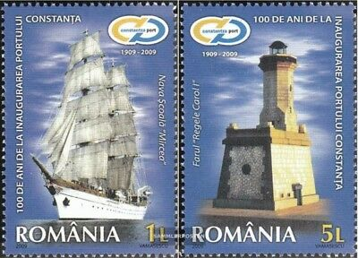 Romania 6404-6405 (complete.issue.) unmounted mint / never hinged 2009 100Jahre