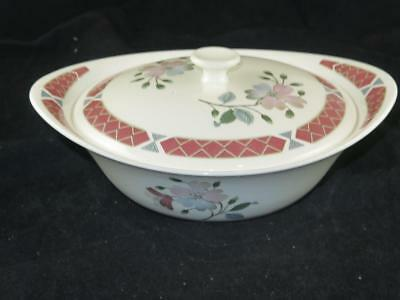 """REPLACEMENT VINTAGE CHINA Wedgwood Serving Tureen & Lid """"ALBANY"""" UNUSED 1960s"""