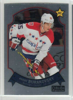 14/15 OPC Platinum Washington Capitals Andre Burakovsky Retro RC card #95