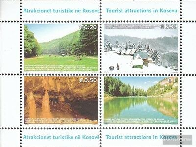 kosovo (UN-Administration) block3 mint never hinged mnh 2006 Tourism