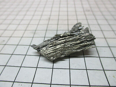 Samarium Metal Element Sample 20g Dendritic Pieces 99.99% Pure - Periodic Table