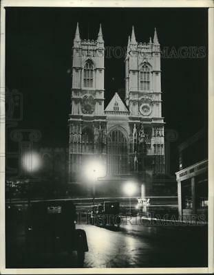 1937 Press Photo King George VI Will Be Crowned King In Westminster Abbey