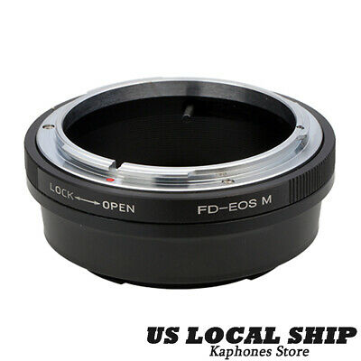 FD-EOS MOUNT ADAPTER Ring For Canon FD Lens to EOS EF Rebel