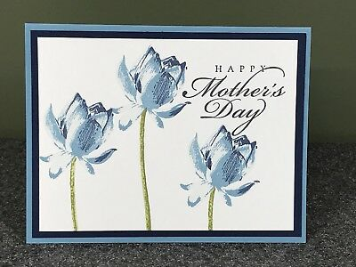 STAMPIN' UP! HANDMADE Card Wonderful Mother - Mother's Day