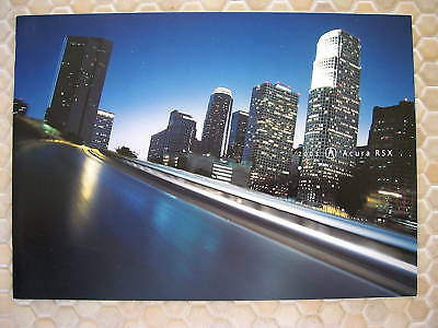 Acura Official Rsx And Rsx Type-S Prestige Sales Brochure 2003 Usa Edition