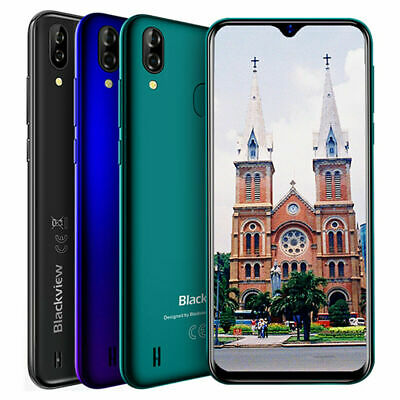 Blackview A60 Pro Smartphone 3+16GB 4G 4080mAh Android 9 Mobile Phone Quad Core