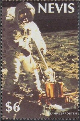 Nevis 522 (complete.issue.) unmounted mint / never hinged 1989 Manned Moon Landi