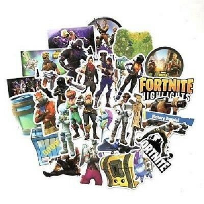 Fortnite Gaming Vinyl Stickers Decals Phone Laptop Xbox PS4 Floss Genuine UK
