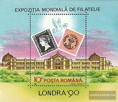 Romania block261 (complete.issue.) unmounted mint / never hinged 1990 Briefmarke