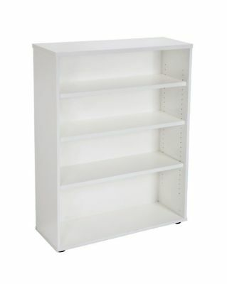 Open Bookcase 1200Hx900Wx315D mm Warm White or Grey