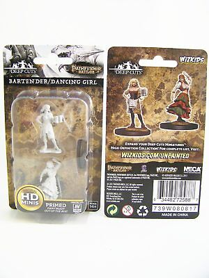 WZK72588 - Pathfinder Battles Deep Cuts - Unpainted Bartender & Dancing Girl