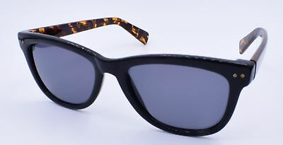 5311497878 Cole Haan Women s Polarized Sunglasses Black face with tortoise temples