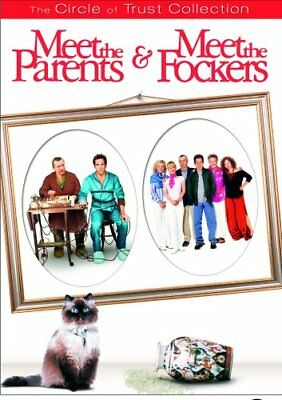 MEET THE PARENTS & MEET THE FOCKERS New 2 DVD Circle of Trust Collection