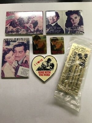 Vintage Lot Of 7 Gone With The Wind Collectibles