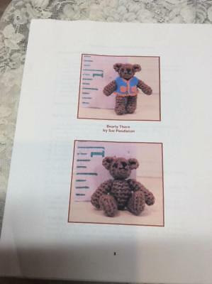 Crochet Instructions For A Tiny Thread Bear by Sue Pendleton