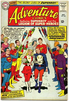 Adventure Comics 337 Superboy Legion Of Super-Heroes Swan Dc Silver Age 1965 Bin