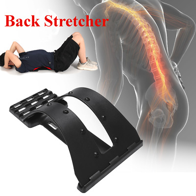 Magic Back Stretcher Lower Lumbar Massage Support Spine Posture Corrector Relief