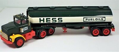 Vtg Hess Truck Lot - 1975 Barrel 1978 van - Rescue Fire Emergency Wheeler Bank