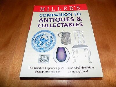 Miller's Companion Antiques Collectibles Antique Collector Collections Book NEW