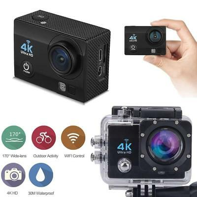 "4K FHD 1080p 12MP 2 ""Wifi Camara de deportes de accion video DVR DV Cam Bike BF"