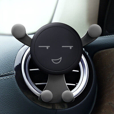 Gravity Car Phone Holder Mount Air Vent Outlet Stand For iPhone X 6 7 8 Samsung