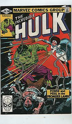 Incredible Hulk # 256 - Sabra ( Nd - 1981 )
