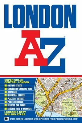 London Street Atlas (A-Z Street Atlas),Geographers A-Z Map Company Ltd