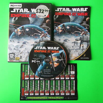 PC - STAR WARS EMPIRE AT WAR - ## FREE FAST 1st CLASS UK POSTAGE ##