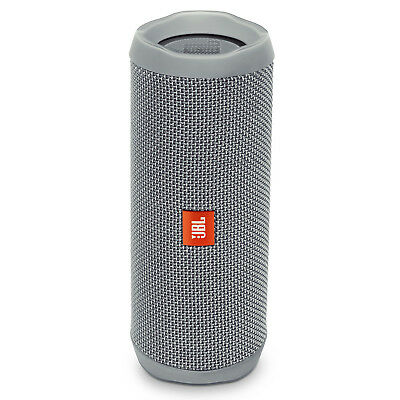 JBL Flip 4 Portable Waterproof Bluetooth Speaker (Gray)
