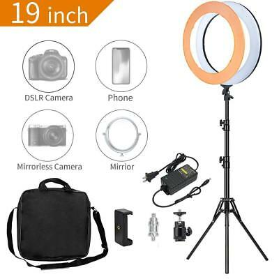 Zomei Ring Light 18 inch 58W LED Dimmable Makeup Ring Light Adjustable Color