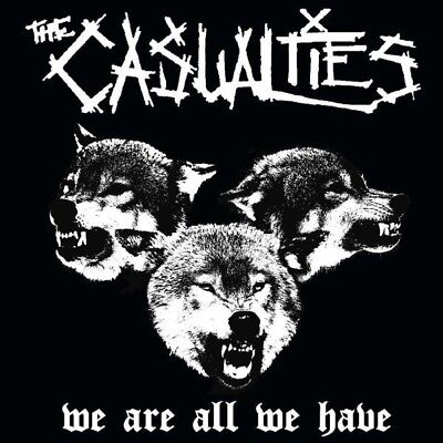 """The Casualities """"we Are All We Have"""" Lp Vinyl Neu"""