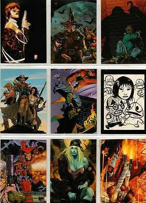 Comic Greats '98 Full 72 Card Base Set of Trading Cards from Comic Images
